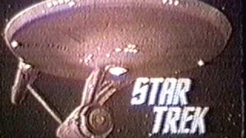 STAR TREK NBC 1967 NIMOY INTRO 16mm