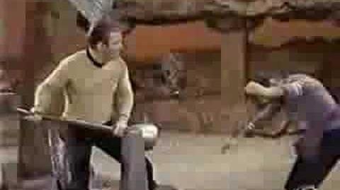 Star Trek Best Fight Scene EVER