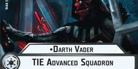 Darth Vader TIE Advanced Squadron