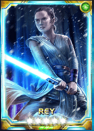 Rey Starkiller Base 5 Awakened.