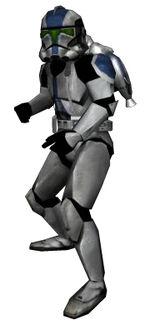 Clone jet trooper BFII