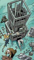Spy ray building