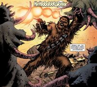 Chewie wookiee rage