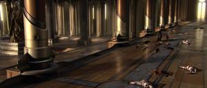 Jedi Temple Main Entrance Interior