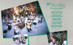 Ewoks on Ice program