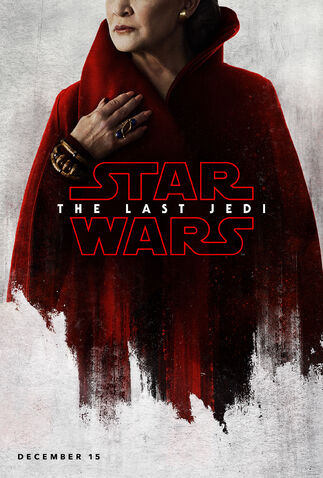 File:Carrie Fisher General Leia Organa The Last Jedi Teaser Poster.jpg