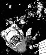 Squib in asteroid hopper