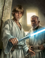 His fathers lightsaber.png