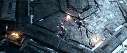 X-Wings Starkiller Divebomb