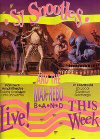 Max Rebo band poster