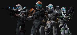 Delta Squad members
