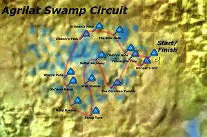 Agrilat Swamp Circuit Map