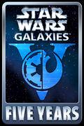 Star Wars Galaxies Five Years