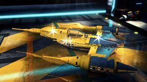 Wick Cooper N1 starfighter