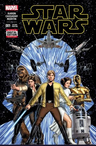 File:Star Wars Vol 2 1 2nd Printing Variant.jpg