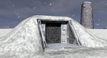 Telos entrance