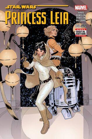 File:Star Wars Princess Leia Vol 1 2 2nd Printing Variant.jpg