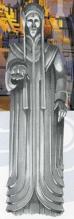 Monument Plaza Statue
