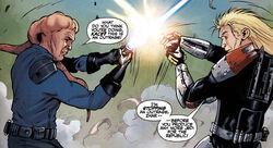Kace Lestin duel