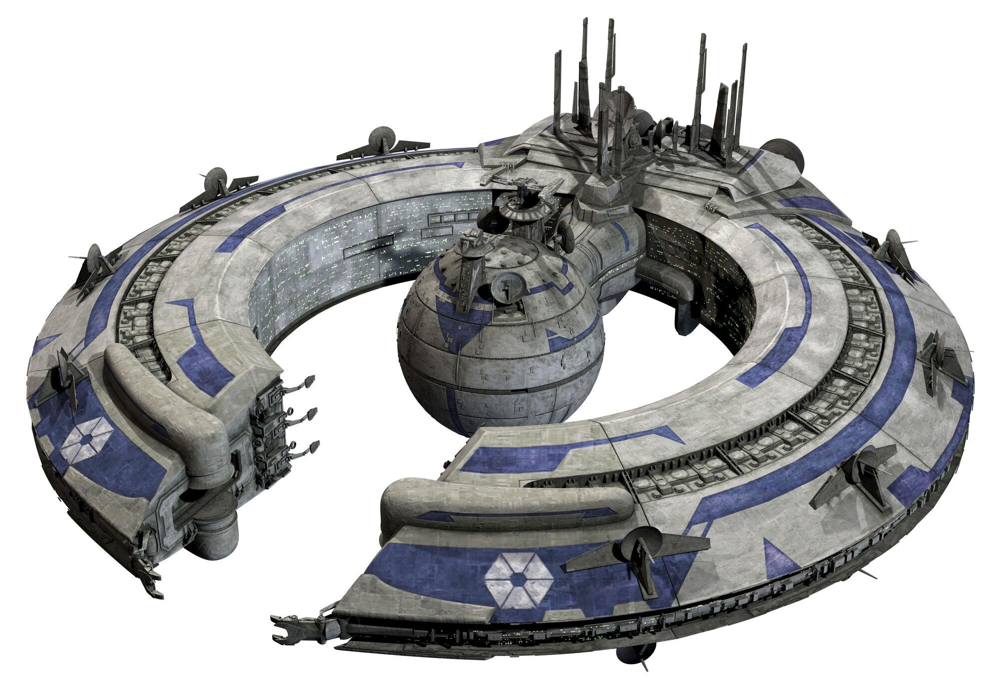 Planetary trade platform space station gek
