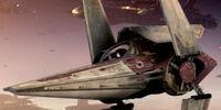 Stíhačka Alpha-3 třídy Nimbus V-wing/Legendy