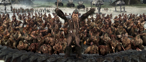 Wookiee trench