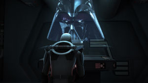 Inquisitor Speaks to Vader