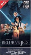 Return of the jedi 1986 vhs