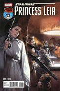 Star Wars Princess Leia Vol 1 1 Mile High Comics Variant