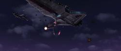 Sky fight over Teth
