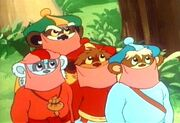 Ewoks disguised jindas