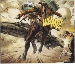 Ramid attacks bounty hunter