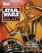 Star Wars Galaxy Topps Cover