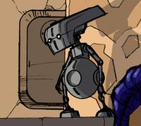 Techno-service droid