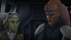 Hera and Cham Syndulla