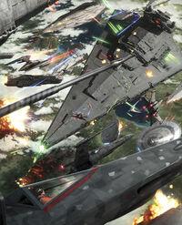 Battle of Kashyyyk by Darren Tan