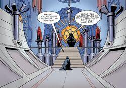 Vadersquest throneroom