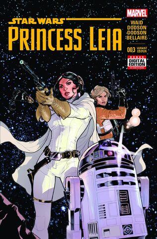 File:Star Wars Princess Leia Vol 1 3 2nd Printing Variant.jpg
