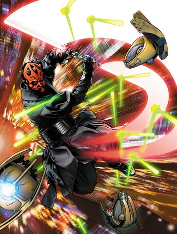 File:Maul VS assassin droids by Corroney.jpg