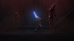Seventh Sister choked