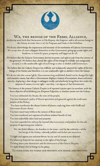 Declaration of Rebellion-SW Propaganda