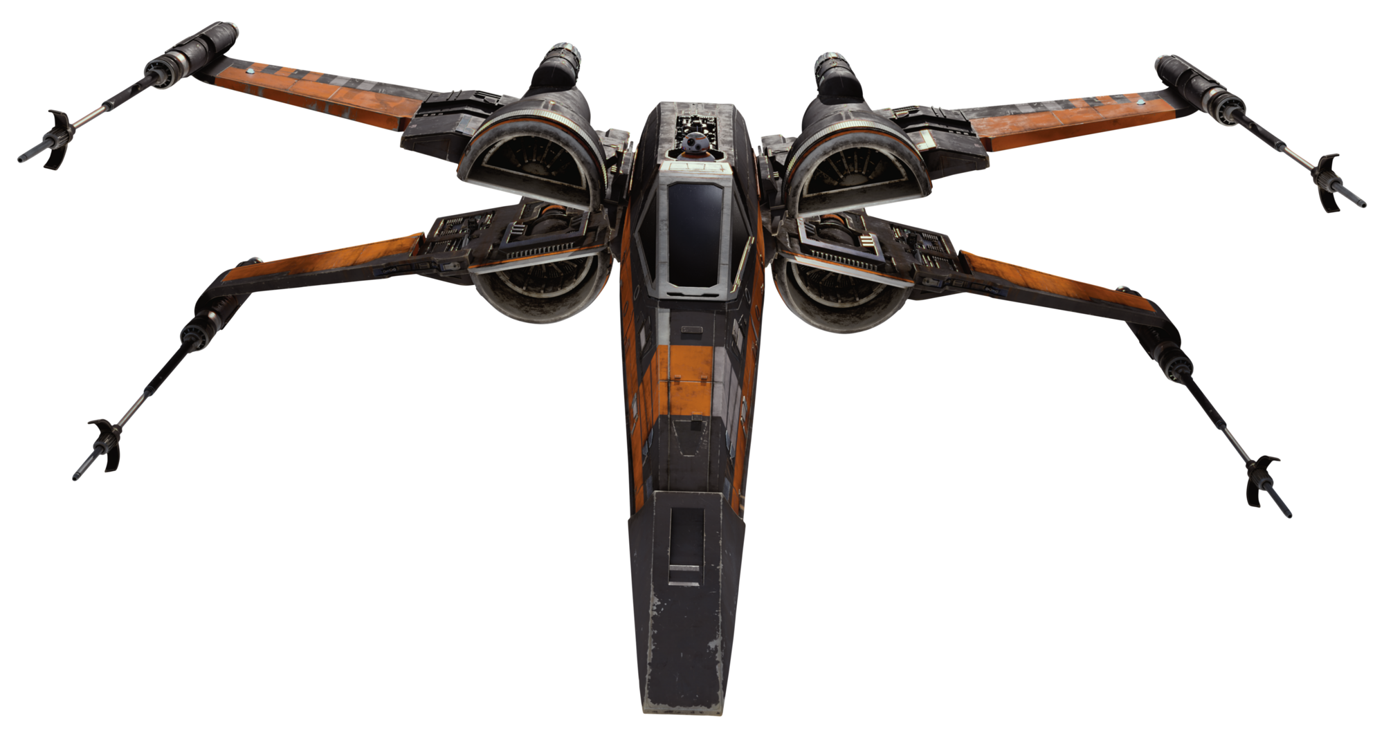 Y Wing Png Image - T70XWing2-Fath...