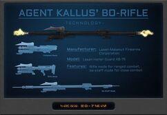Agent Kallus' Bo-Rifle Aspects