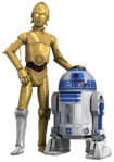 Rebels R2-D2 and C-3PO render