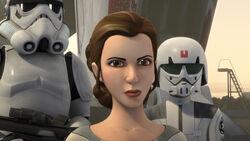 Leia in A Princess on Lothal