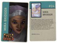 Mira Bridger card
