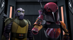 Rise of the old Masters Screenshots Zeb and Sabine
