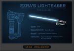 Ezra's lightsaber details