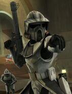 Commander Trauma with ARF Scout helmet