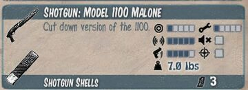 Model 1100 malone